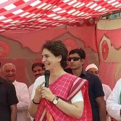 हमीरपुर के राठ मेंआज जनसभासंबोधित करेंगी प्रियंका गांधी, कार्यकर्ताओं में जोश