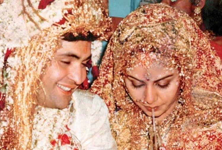 Image result for rishi kapoor and neetu singh marriage,nari