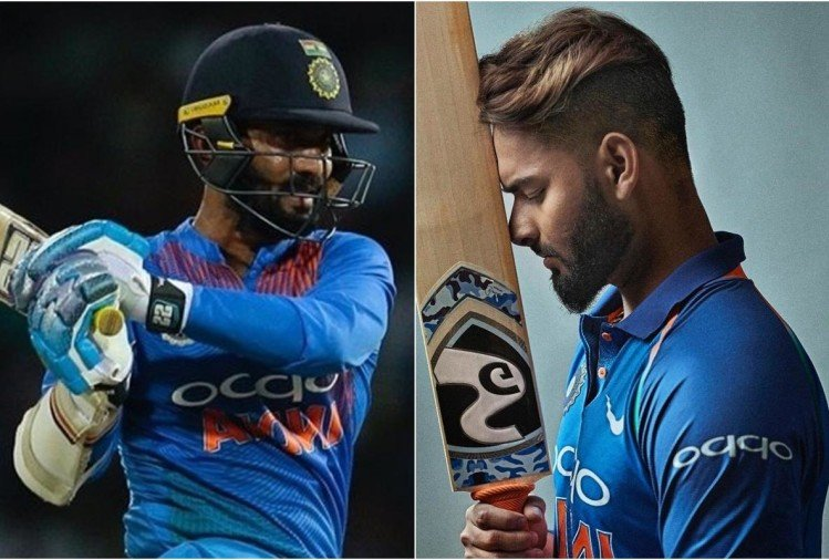 karthik and pant