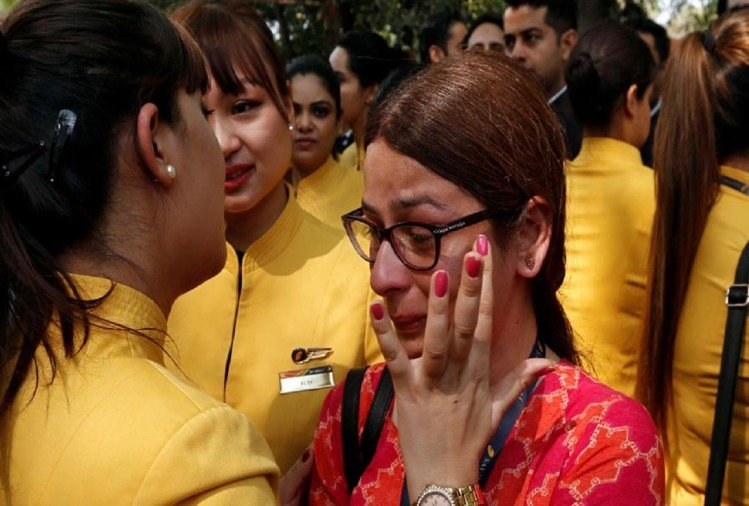 workers of Jet Airways are unemployed and facing these problems