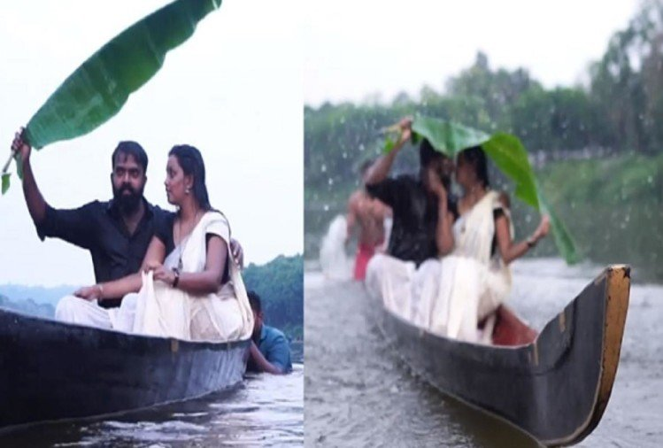 couple falls into river from boat during pre-wedding photoshoot video goes viral
