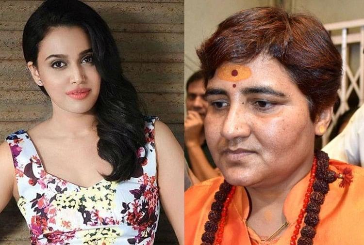 Image result for Swara Bhaskar's Dig at Pragya Thakur