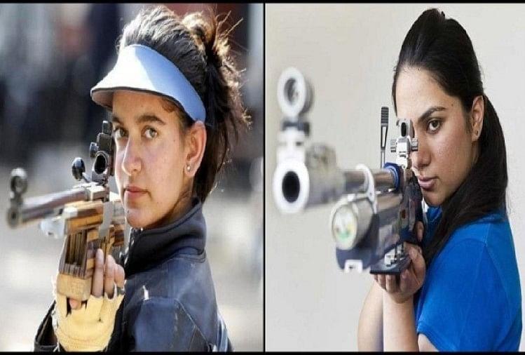 Issf world ,apurvi ,anjum ,sports news ,Sports News Hindi,ISSF विश्व,कप,भारत,झटका,अंजुम,पदक