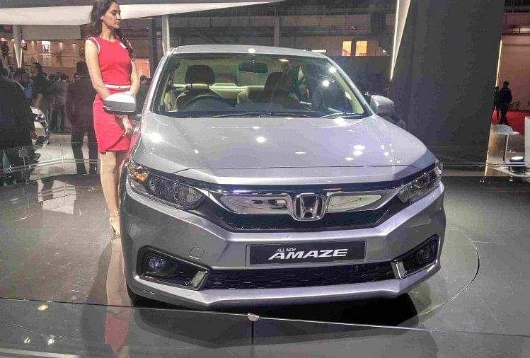 Honda amaze CVT VX launch