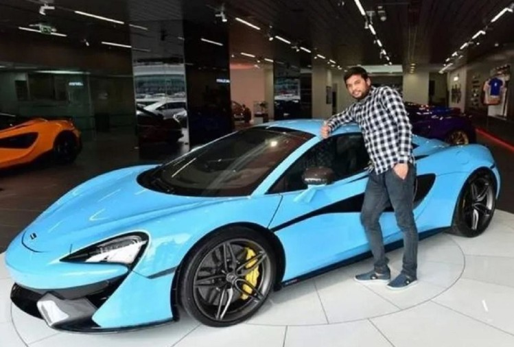 Balvir Singh with his McLaren.