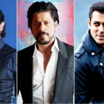 Shahrukh khan Salman khan and Aamir khan