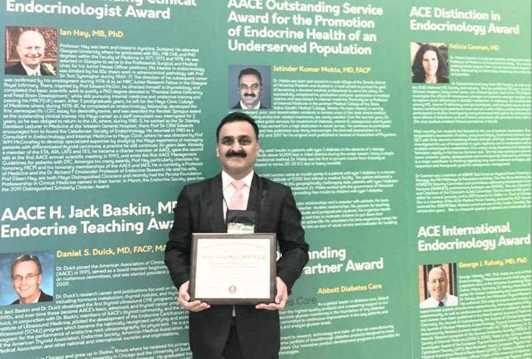 American College Of Clinical Endocrinology Service Award To