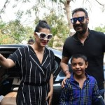 Ajay Devgn, Kajol and Yug
