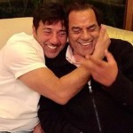 sunny deol and dharmendra