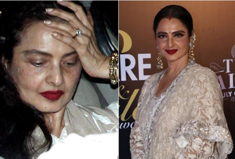 rekha birthday special know secret behind rekha ageless beauty and skin routine