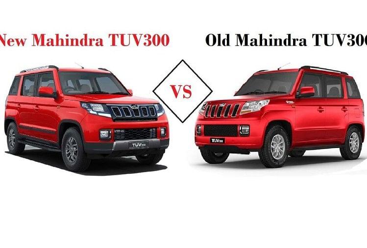 New Mahindra Tuv300 Vs Old Tuv300, 2019 Facelift Launched