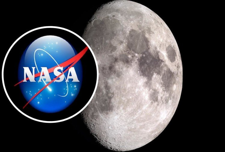 moon shrinking nasa