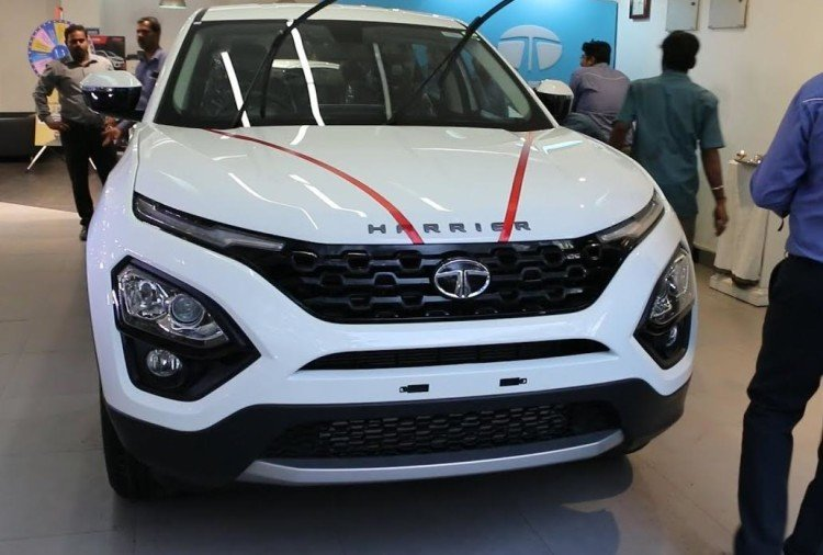 Tata Harrier delivery