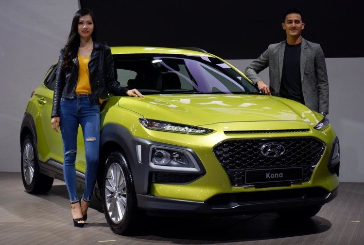 Hyundai Kona Green Electric