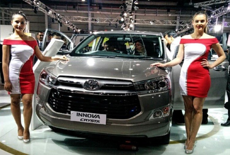 Innova Crysta Launch India