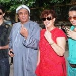 Ranjeet with family