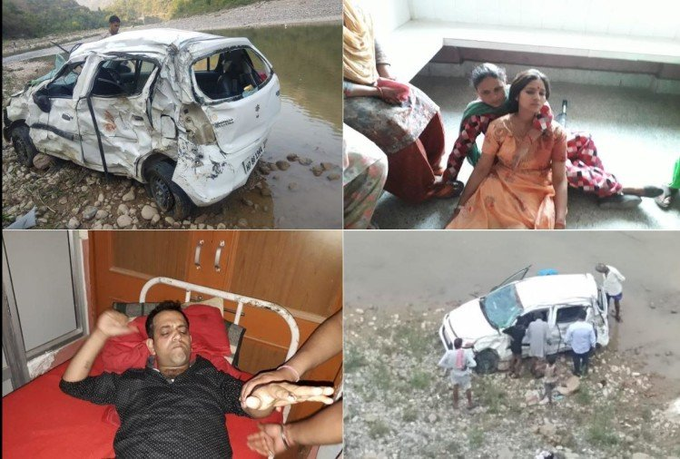 Woman killed five injured in accident in Mandi himachal pradesh
