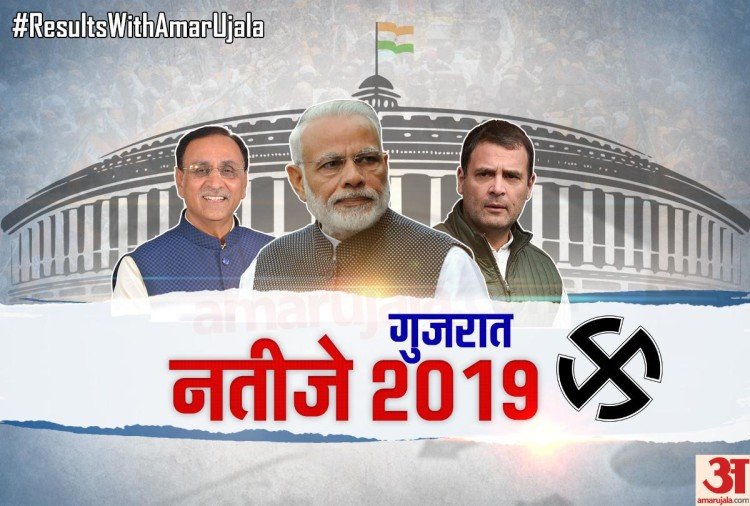 Gujarat  Lok Sabha Election Results 2019 Live Updates, Know Result