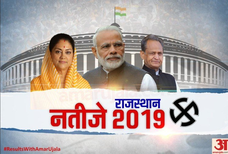 Rajasthan Lok Sabha Election 2019 Results Live Election Vote Counting, Chunav Result News Today