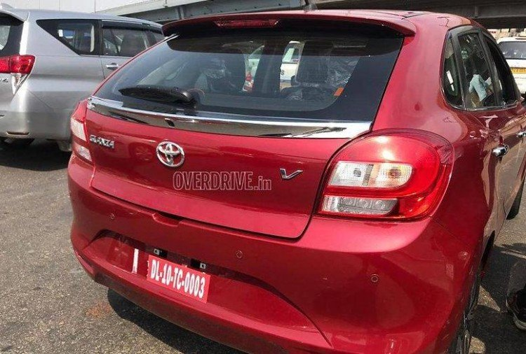 toyota glanza REd Rear