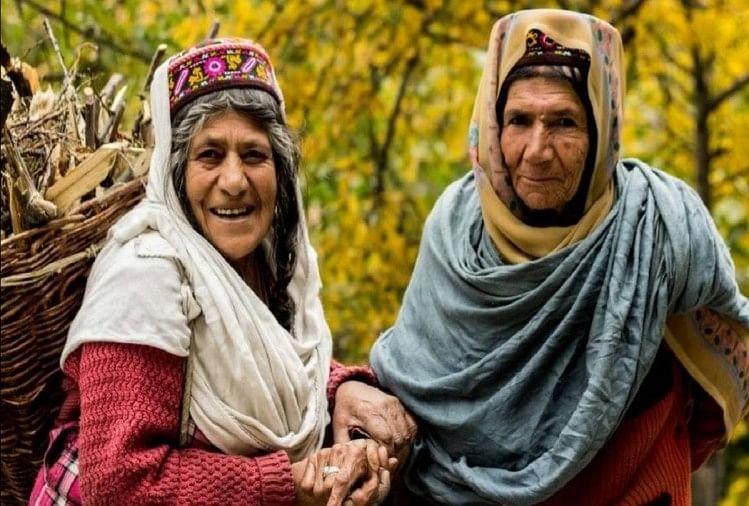 हुंजा समुदाय की महिलाएं