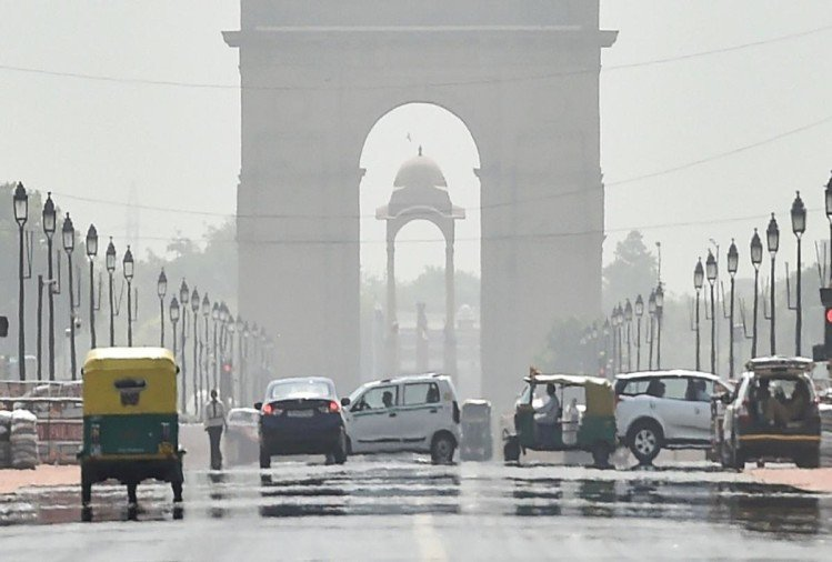weather update delhi records 48 degree temperature highest in history full in burning heatwaves