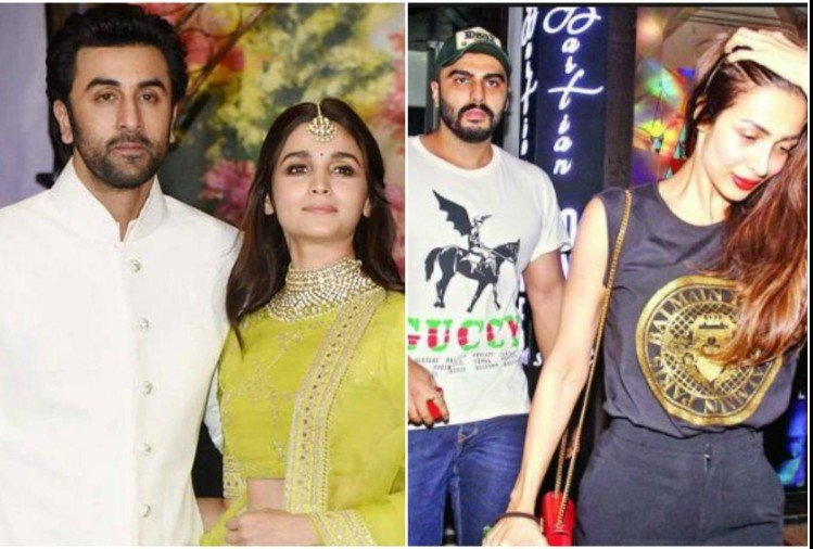Ranbir, Alia, Arjun and Malaika