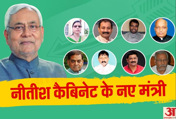 New Ministers of Nitish Kumar Cabinet