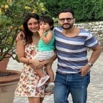 Kareena, Saif and Taimur