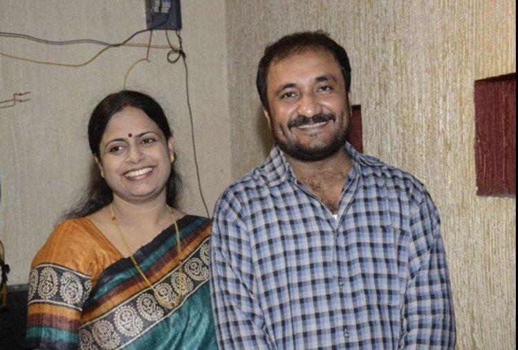 anand kumar with wife