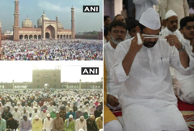 eid 2019 celebration photos from all over india including delhi ncr