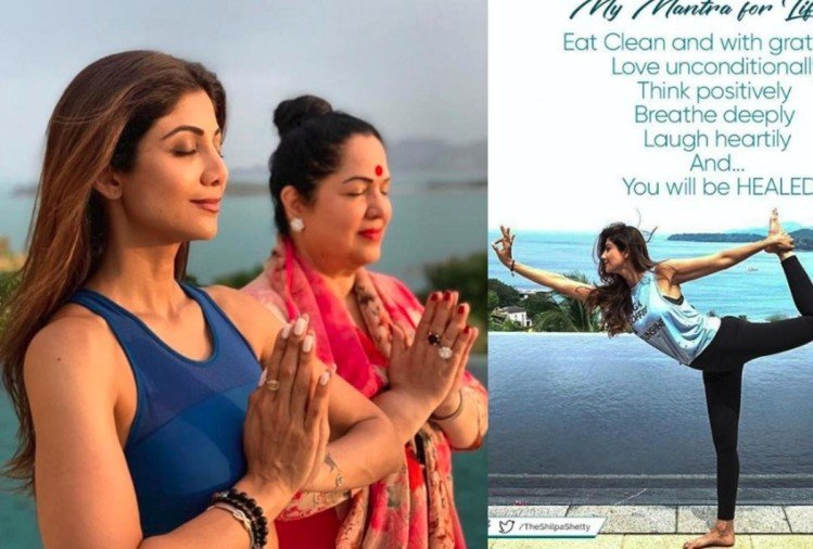 shilpa shetty fitness routine yoga keeps fit and healthy