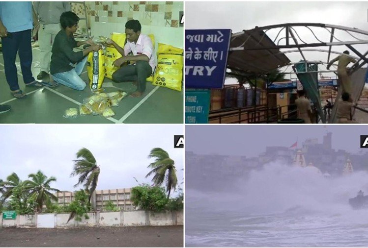 Live Updates: Cyclone Vayu to hit Gujarat today, PM Modi and Amit shah are monitoring situation