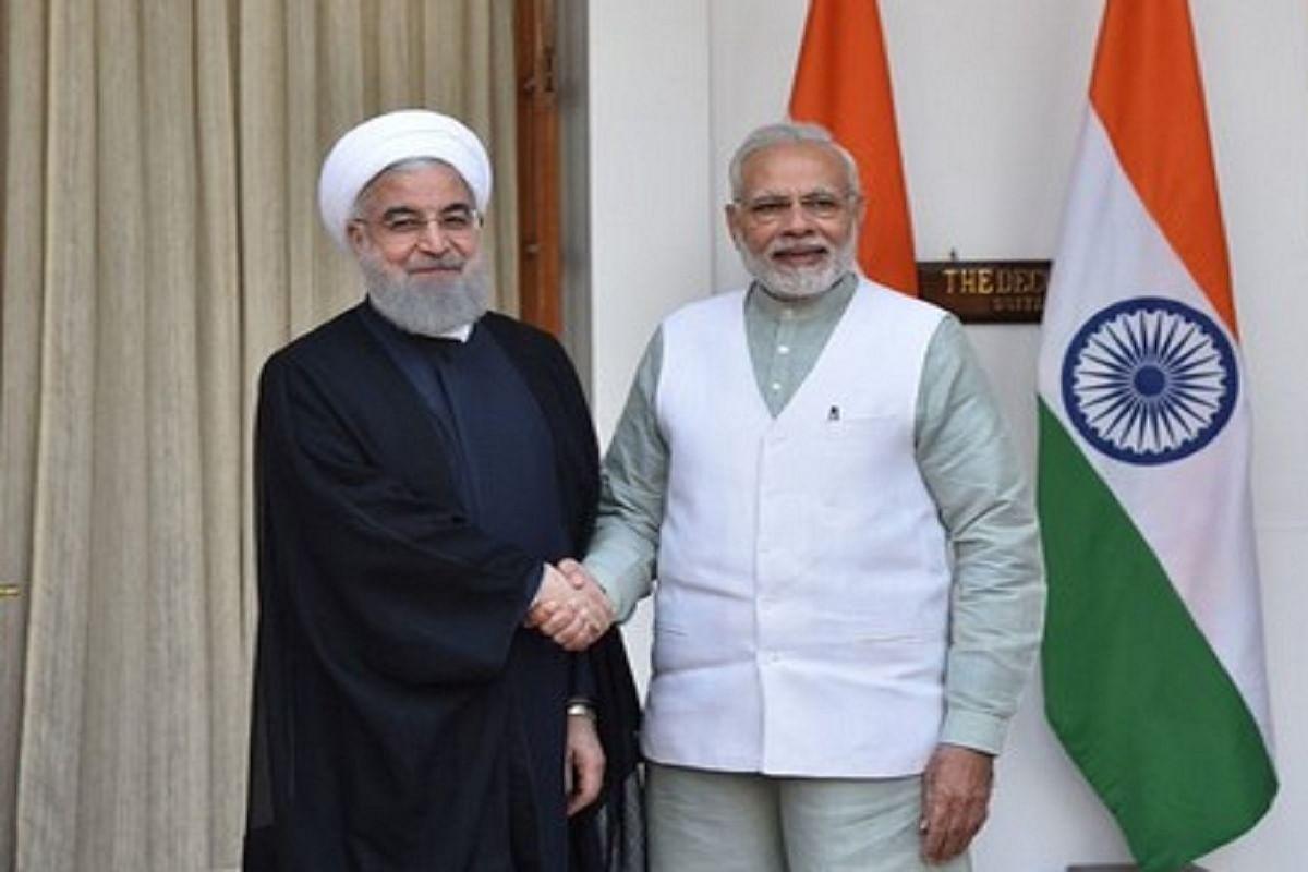 ईरान के राष्ट्रपति हसन रूहानी और प्रधानमंत्री नरेंद्र मोदी (फाइल फोटो)