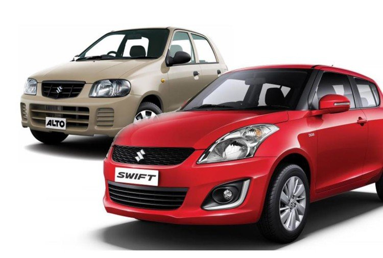 used car swift and alto