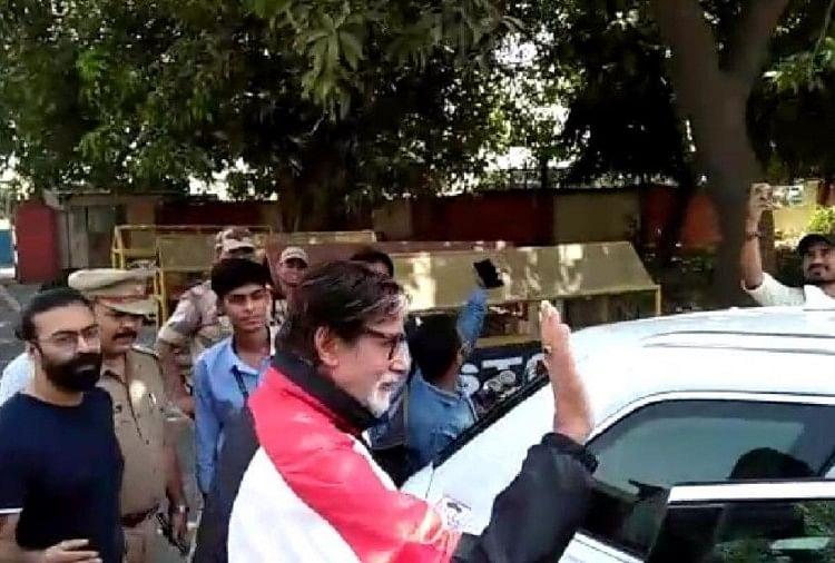 Image result for अमिताभ बच्चन ने लखनऊ में