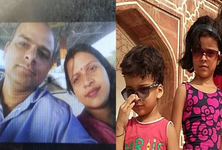 delhi mehrauli husband stabbed wife and 3 kids to death admitted in note