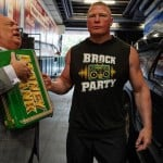 Paul Heyman, Brock Lesnar