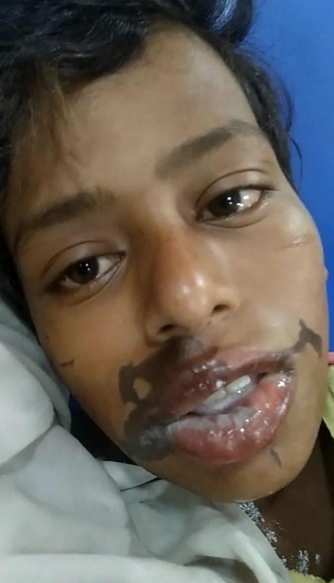 क्रइम की खबर के साथ लखनऊ के मड़ियांव थानाक्षेत्र के फैज़ुल्लागंज में गांजा लाने से इनकार पर  12 वर्षी