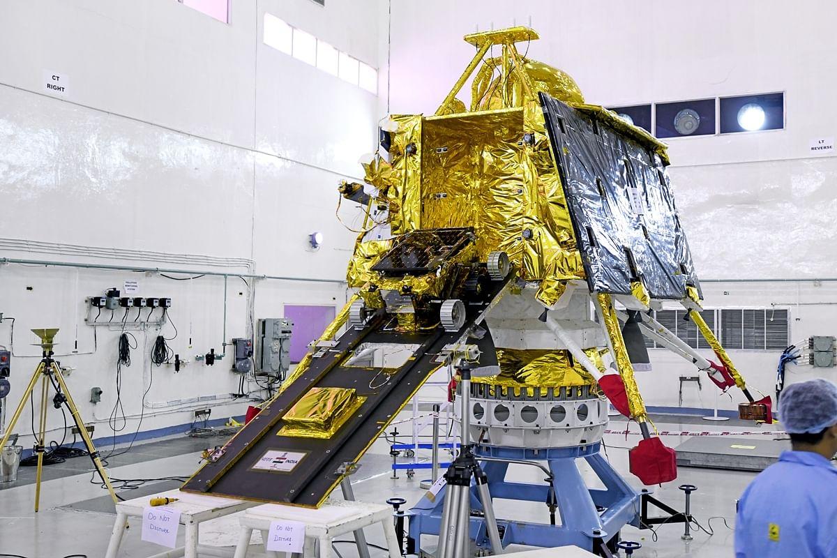 इसरो ने चंद्रयान-2 की तस्वीरे जारी की हैं