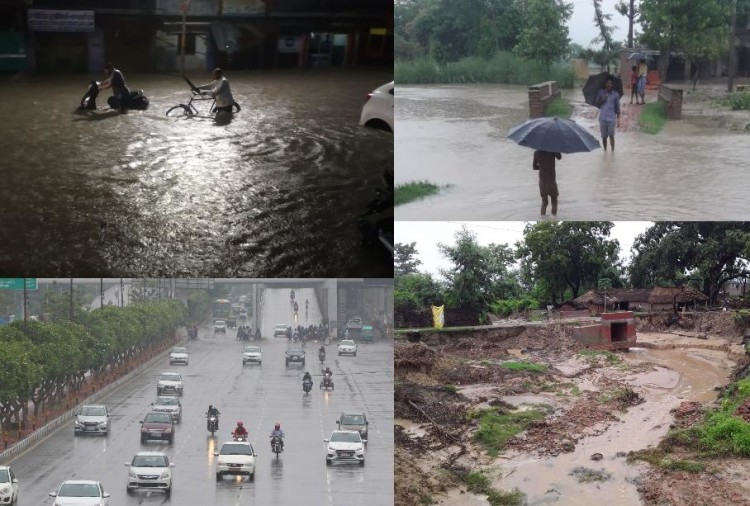 Rain will continue in next two days in Uttar Pradesh.