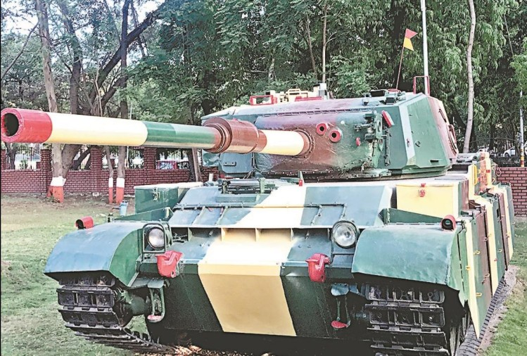 Air Force Vijayanta Tank will enhance the glory of War Museum Dharamshala