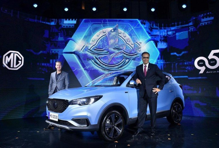 MG eZS Electric SUV Launch