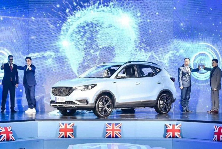 MG eZS Pure Electric Vehicle makes global debut