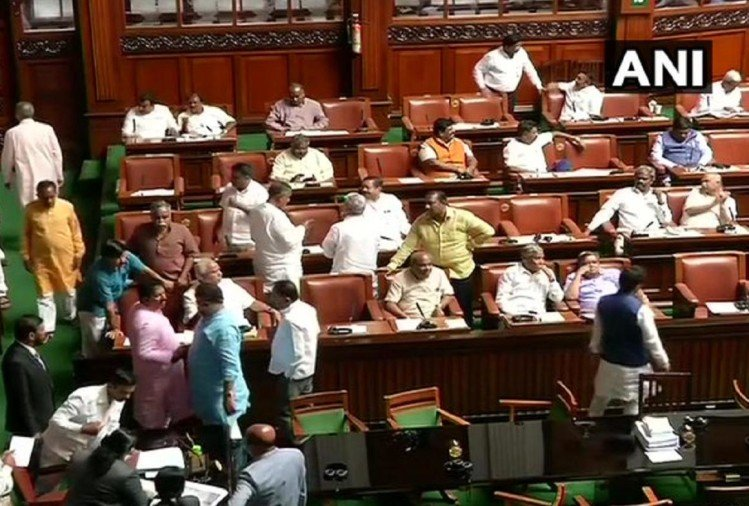 Karnataka Crisis Live Updates: government will face floor test today, MLAS arrive in Vidhan Soudha