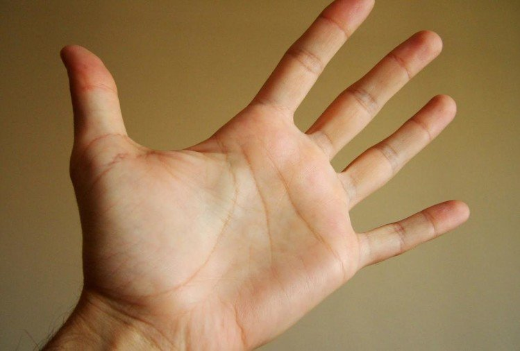 palmistry reading lucky signs in hand