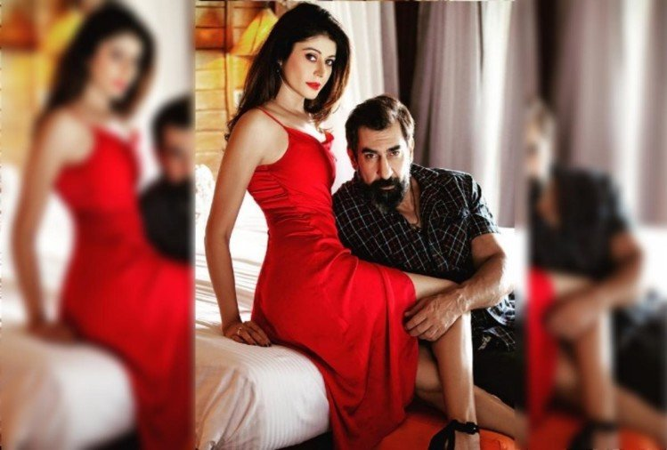 Pooja Batra and Nawab Shah
