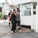 Arjun Rampal with daughter