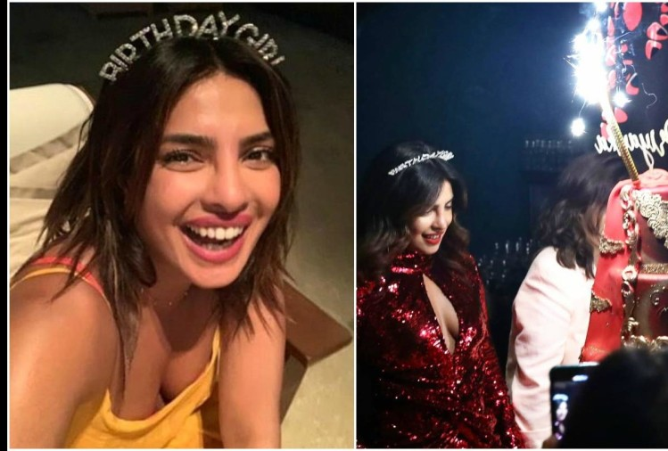 Priyanka Chopra birthday celebration