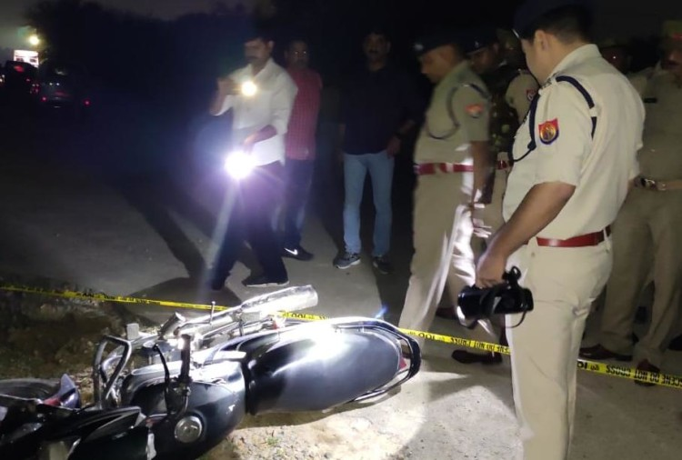 Three gangester injured in Police incounter, Lucknow, UP